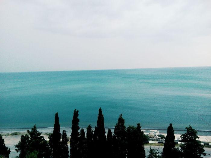 First Eyeem Photo Crimea Sea Blacksea Sky Mountains