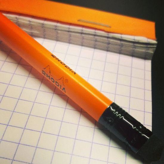 Viel genutzt... Rhodia Pen Paper