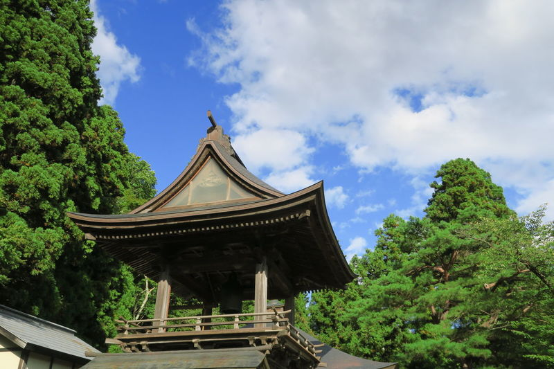 Japanese Temple Architecture Budist Tempel Building Exterior Sky Spirituality