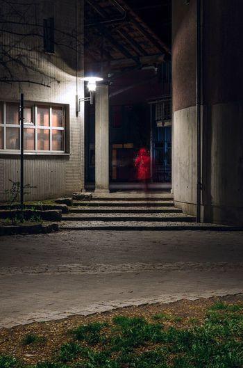 Night WALK 👣🌫🌫🌫🌫🌫🌫🌛 Cities At Night Germany City Night Nightphotography Way Shadow Leftplace Redcoat Time Exposure Blub Exposure Outdoor