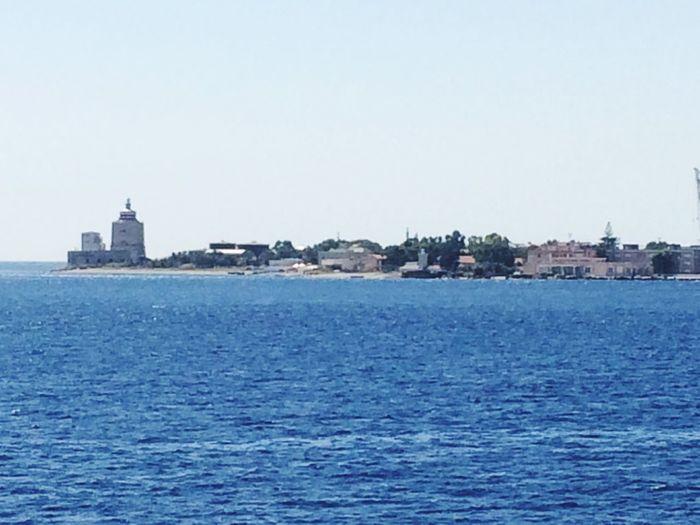 Arrivando in Sicilia ...