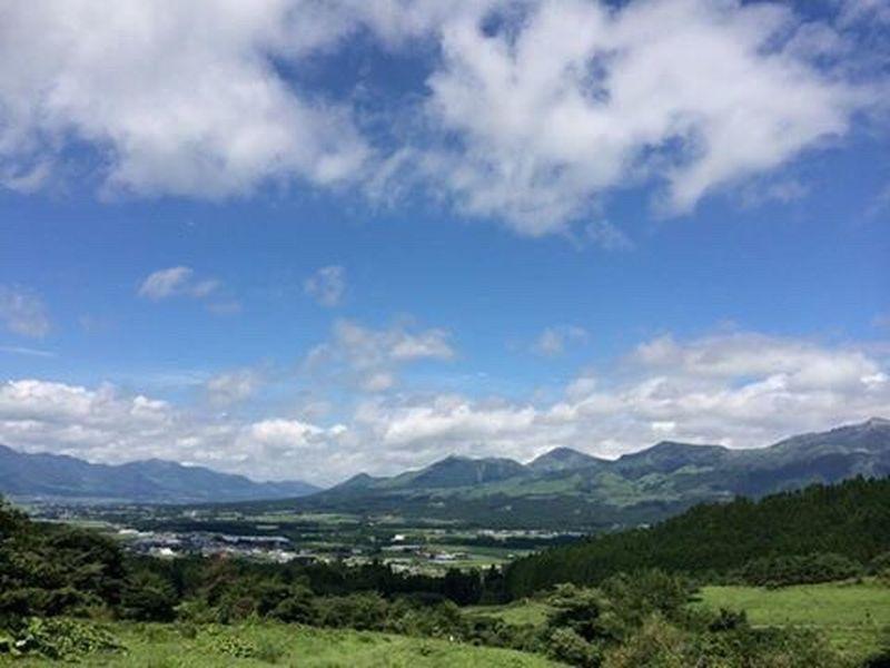 Kumamoto Kumamoto Aso Beautiful Village Japan Nature 熊本 日本 Mountains