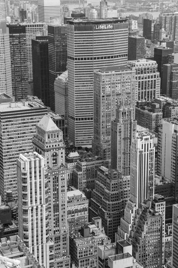 City Life Cityscape Travel Architecture Blackandwhite Building Exterior Built Structure City Cityscape Crowded Day Development Downtown Downtown District Growth High Angle View Modern Monochrome Outdoors Skyline Skyscraper Tall Tower Travel Destinations Urban Skyline