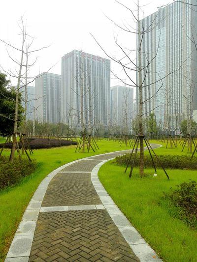 At Wuxi China Buildings