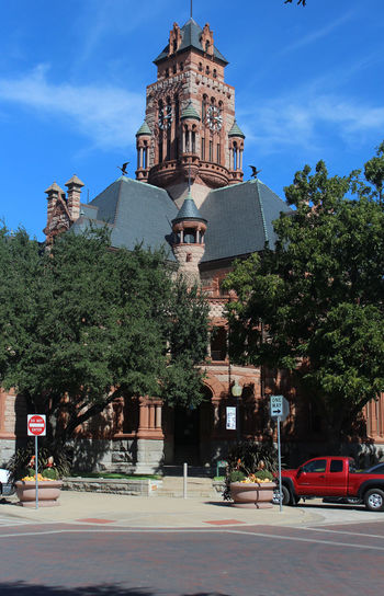Architecture Courthouse Historical Building Texas Texas Courthouse