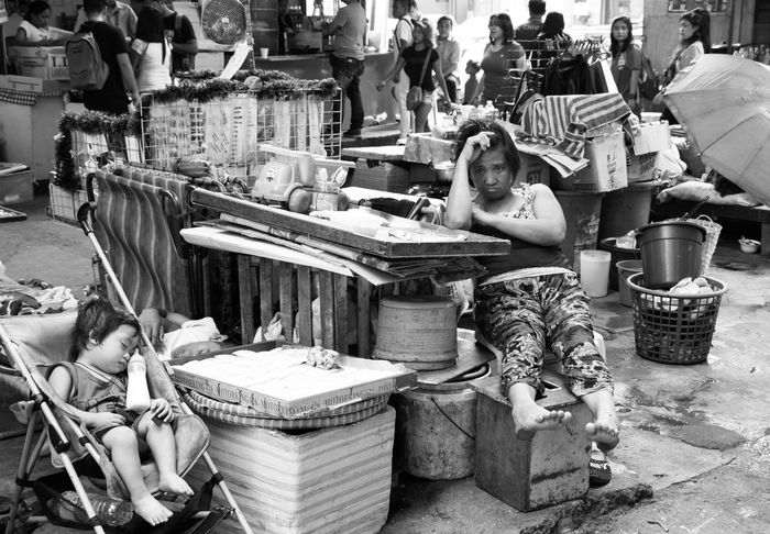 Reality bites, Manila, Philippines. March 3, 2016. Photo by Olga Mihova Everydayphilippines EyeEm Gallery Manila Street Street Photo Street Photographer Streetphoto_bw Streetphotography Streetphotography_bw