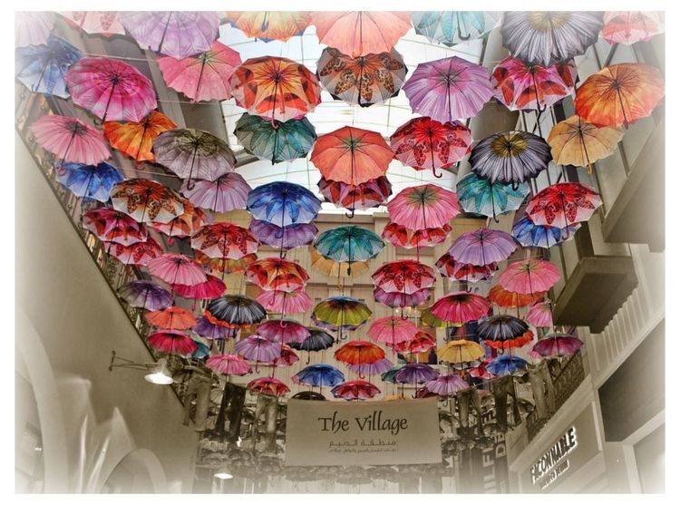 The Dubai Mall Dubai Thevillage The Village Colors Colorfull Umbrella Umbrellas Umbrella☂☂ Umbrellastreet Umbrella Revolution Umbrellarevolution United Arab Emirates UAE UAE , Dubai Dubai❤ EyeEmBestPics Mall Indoor Photography Indoor Photoshoot