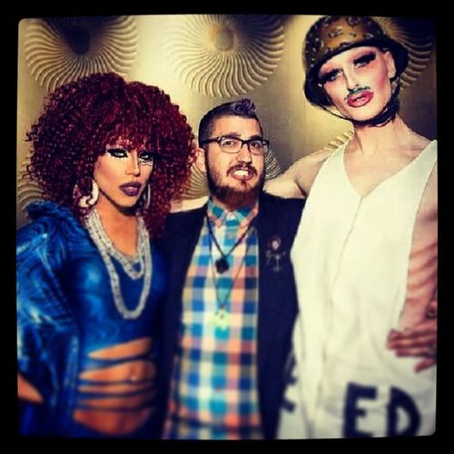 What a night! With the Goodlactation @bigandmilky! You know I Gotmilk ! And Teamleche represent with @yarasofiapr! Fiercequeens rupaulsdragrace