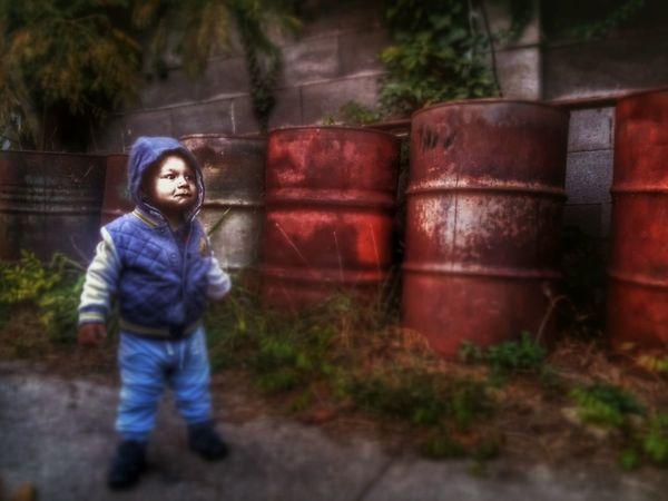 kid Garden Gangsters Paradise Gansta Outdoors Out Child Maffia Apocalypse Be. Ready. EyeEmNewHere