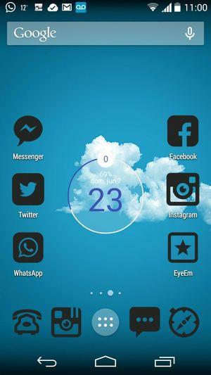 Clock New Clock Screenshot Smartphone Motog2