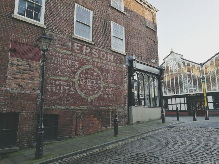 Building Exterior Architecture Built Structure Outdoors Stockport Old Old Buildings Brick