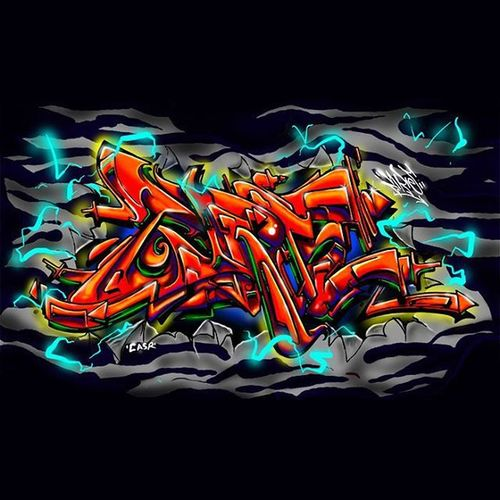 Full Graffiti Zrie73 Sketch Streetart Digital Wacom Pen Marker Handstyle Typography Colour Doodle Drawing ArtWork Wildstyle
