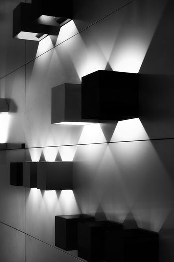 monochromatic lights and shadows Monochromatic Lights And Shadows LED Led Lights  Monochrome Illuminated Indoors  Lighting Equipment No People Architecture Built Structure Pattern Wall - Building Feature Low Angle View Glowing Modern Electricity  Flooring Building Ceiling Light - Natural Phenomenon Reflection Light Design Technology Light Fixture