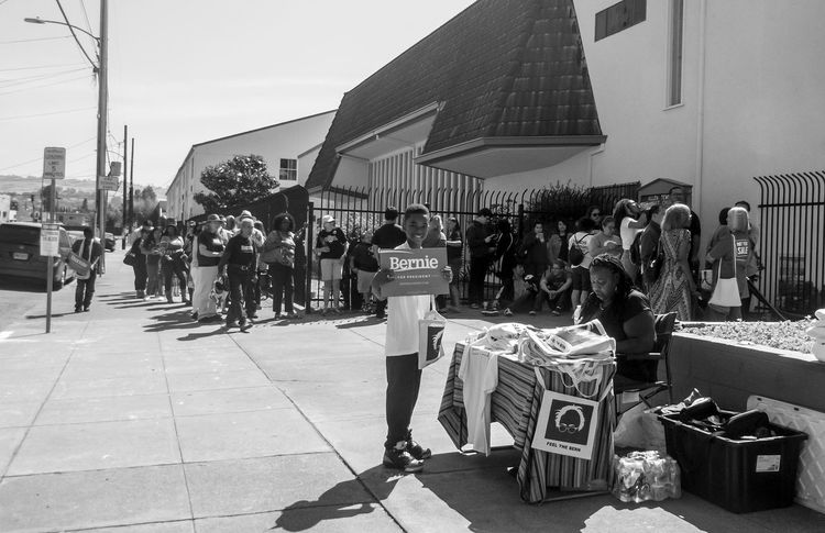 Waiting for Bernie Sanders to arrive Bernie Sanders Bernie2016 Church East Oakland, California Election Oakland Rally First Eyeem Photo