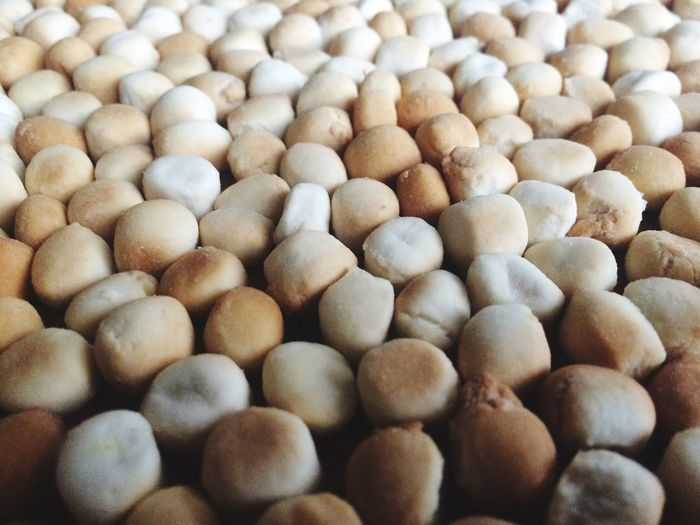 Full frame shot of nuts