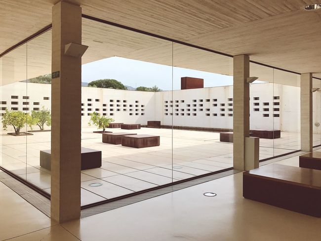 Indoors  Architecture Andalusia Andalucía Museo Medina SPAIN Madinat Alzahra The modern museum of Medina Al Zehra which is the most famous moorish style palace ruins in Córdoba, Andalusia, Spain