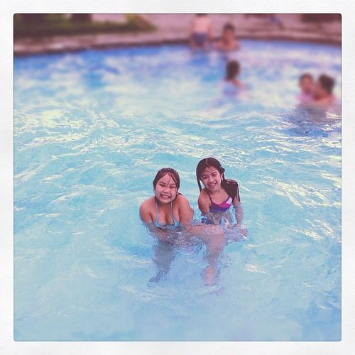 Swimming with sam :)