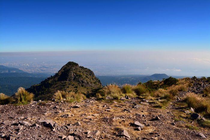 Ajusco CDMX. Landscape Mexico City Montains    Outdoors Sky