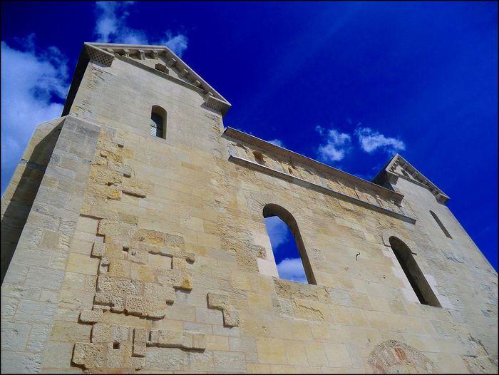 Architecture Dordogne Eglise Ruine Mur Murs
