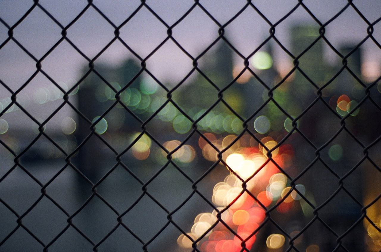 Full Frame View Of Chainlink Fence