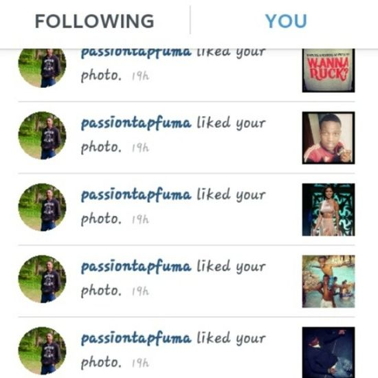 Thank you my nigga! Throw the guy a follow @passiontapfuma team Followbacks @passiontapfuma @passiontapfuma