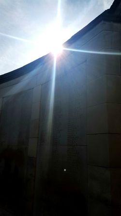 Belgium Beauty In Nature Outdoors No People Day Sunlight Sun Nature Sky Built Structure Memorial War Memorial