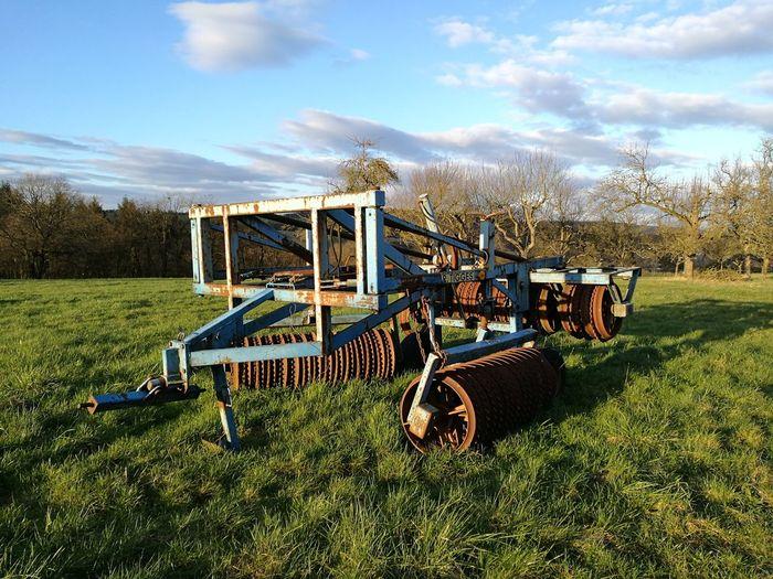 Landwirtschaft Sonnenuntergang Landwirtschaftsgerät Landwirtschaft Nied Tree Sky Grass Cloud - Sky Agricultural Machinery Tractor