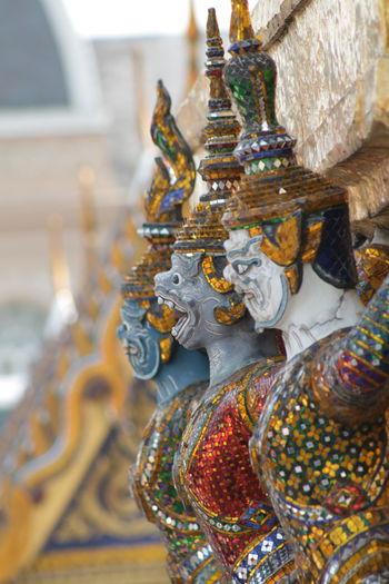 หนุมาน Tradition Celebration No People Close-up Figurine  Indoors  Day