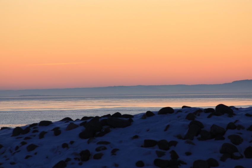 Mølen, Norway Sunset Sea Water Beauty In Nature Orange Color Nature Horizon Over Water No People Outdoors Majestic Cold Temperature Winter Evning Snow Snow ❄ Amaturephotography EyeEm Week EyeEm Gallery Eyem Collection