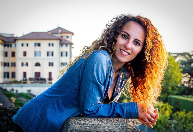 My beautiful princess Portrait Looking At Camera Long Hair Smiling Curly Hair One Person Beautiful Woman Brown Hair Happiness Beautiful People Casual Clothing Beauty Only Women Outdoors One Woman Only Adult People Adults Only Mid Adult Young Women Canon EyeEmNewHere Photographer First Eyeem Photo Followme