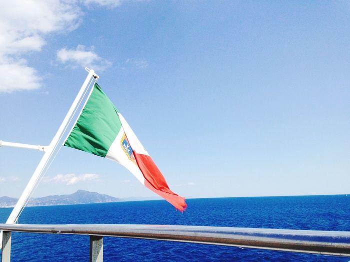 Flag Sea Water