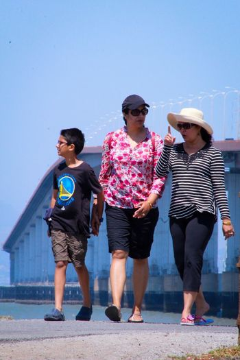 EyeEm Gallery San Mateo Bridge Random People Making A Point Family Eyem Gallery Eyemphotography San Francisco Bay