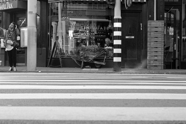 City People Amsterdam Hollande Europe Eu Blackandwhite Black Streetphotography Street Travel Explore Journey Trip Travelling Traveler Enjoying Life Adventure Enjoy Netherlands ❤ Metropolis Capital City Zebra Print Zebra Crossing The Street Photographer - 2017 EyeEm Awards The Street Photographer - 2017 EyeEm Awards