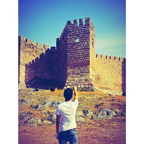 Kadifekale Turkey Izmir Castle Photography