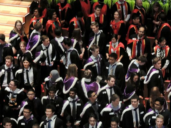 The Color Of School Graduation Engineering People And Places
