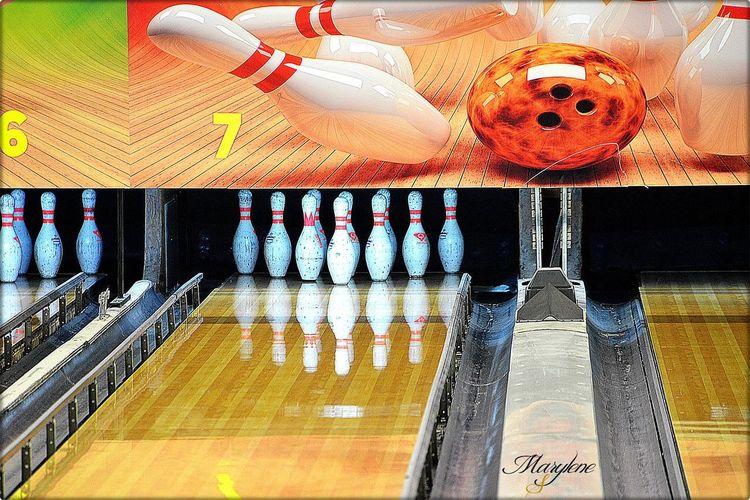 Boule Bowling Gagner Jeux Quilles