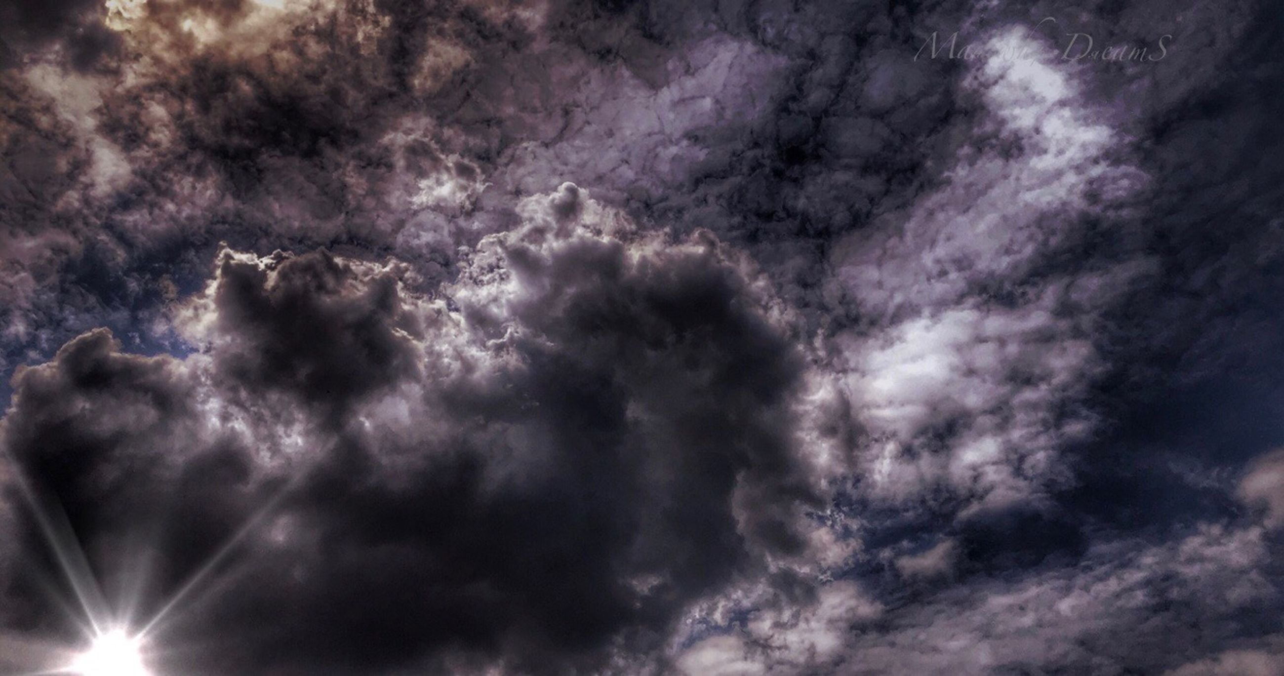sky, cloud - sky, low angle view, beauty in nature, scenics - nature, no people, nature, storm, storm cloud, overcast, outdoors, dramatic sky, tranquility, cloudscape, thunderstorm, backgrounds, full frame, idyllic, purple, power in nature, meteorology, ominous