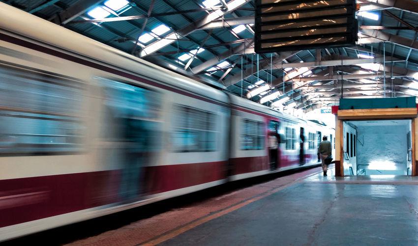 The Mobile Photographer - 2019 EyeEm Awards City Clock Motion Railroad Station Platform Public Transportation Train - Vehicle Rail Transportation Station