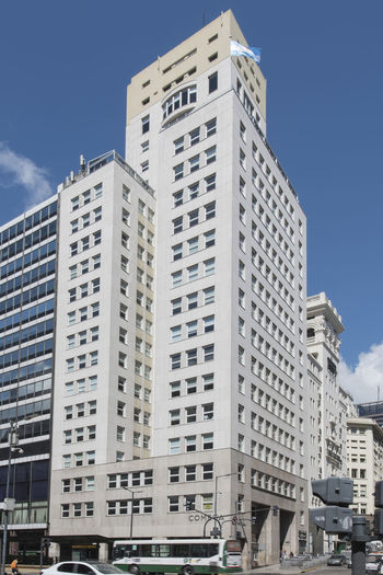 Building Exterior Architecture Built Structure Sky City Building Low Angle View Day No People Office Building Exterior Nature Window Clear Sky Office Outdoors Skyscraper Residential District Tall - High Street City Life Apartment Edificio Comega Comega Buenos Aires Buenos Aires, Argentina