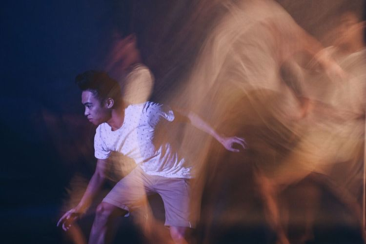 Philippines Manila Motion Dancing Skill  Blurred Motion Performance