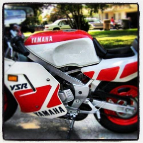 Yamaha Ysr50 Caferacer Pocketrocket photogram