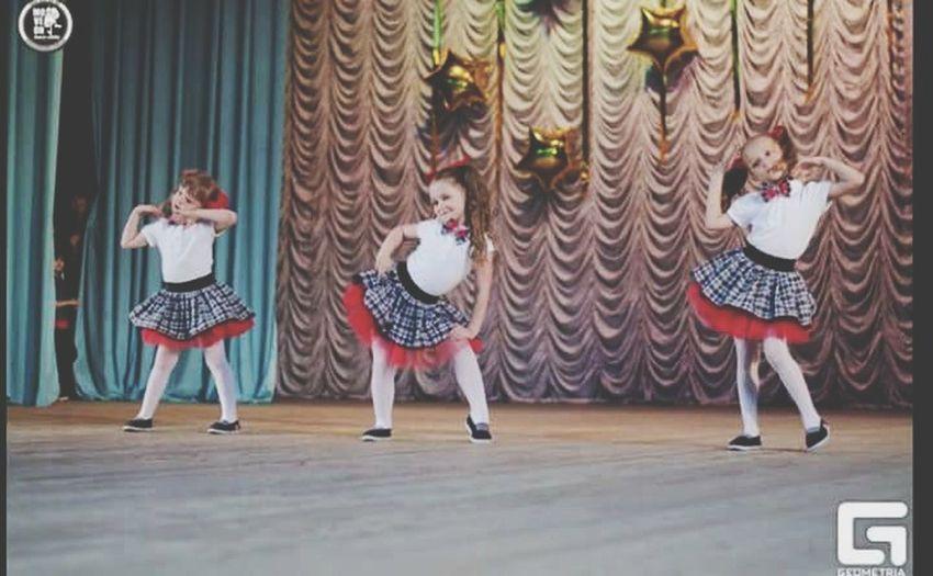 Jazz-Funk Dancers Concert Kids Girls