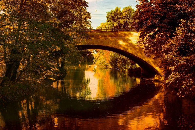Brücke in