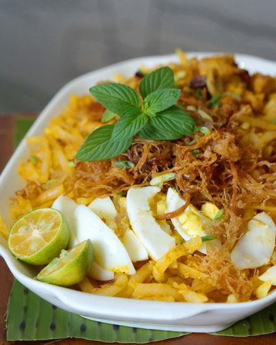 Palabok Merienda Philippines Close-up Day Filipino Filipino Food Food Food And Drink Palabok