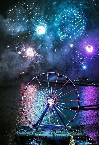 Fireworks Baku. Happy New Year Baku 2015. Eminmammadov Azerbaijan Fireworks NewYear2015 Night Enjoying Life Photography