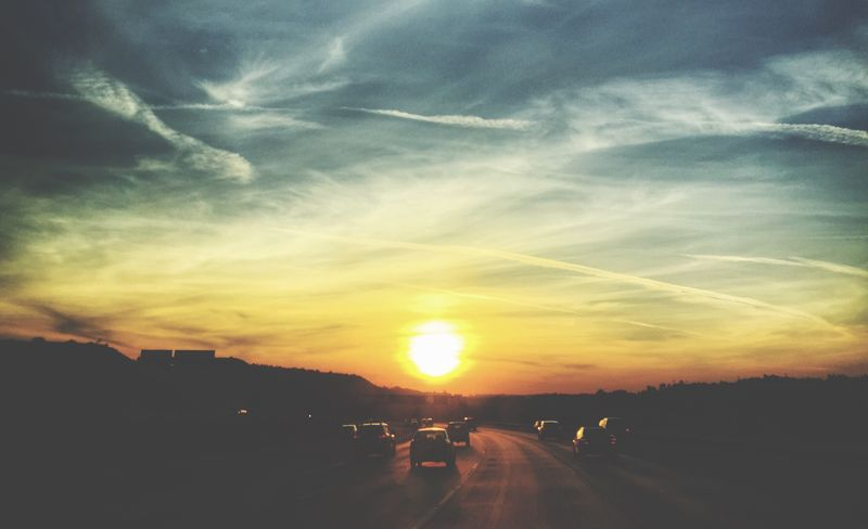 Road to glory ! VSCO EyeEm Best Shots - Sunsets + Sunrise On My Way Sky_collection Cloud_collection  Scenics Shootermag_usa Way Driving And Shooting Sky Colour Of Life Youmobile Fine Art Photography EyeEm Best Edits Popular Photos Focus On Foreground Beauty In Nature Sun Road