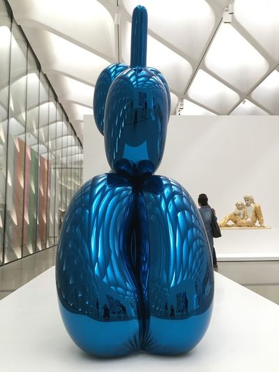 EyeEm Selects Museum Of Modern Art Art Sculpture Human Representation Indoors  Blue No People Day Close-up Broad Museum