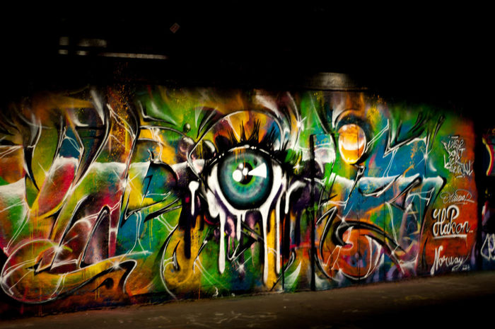 City Life Leake St Leake Street Tunnel London Art Art And Craft Close-up Culture Day Graffiti Indoors  Multi Colored No People Unseen London