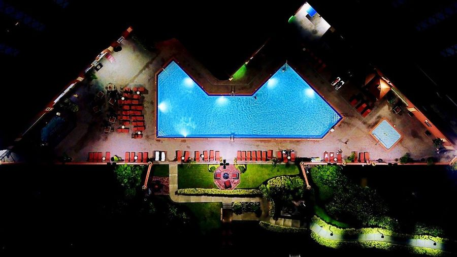 -The Westgate- Birdseyeview Mavic Pro Dronephotography Drone  Overhead Minimalism Minimals Simplicity Pool Architecture Night Crowd Illuminated Group Of People Built Structure Indoors