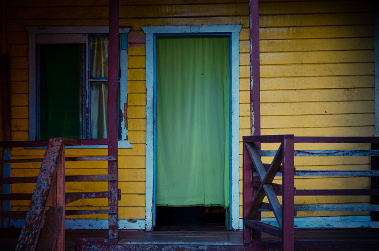 Yellow House Abandoned Closed Colorful Door Doorway Entrance House Old Old Buildings Wall Wall - Building Feature Window Yellow Yellow House  Travel The Architect - 2016 EyeEm Awards